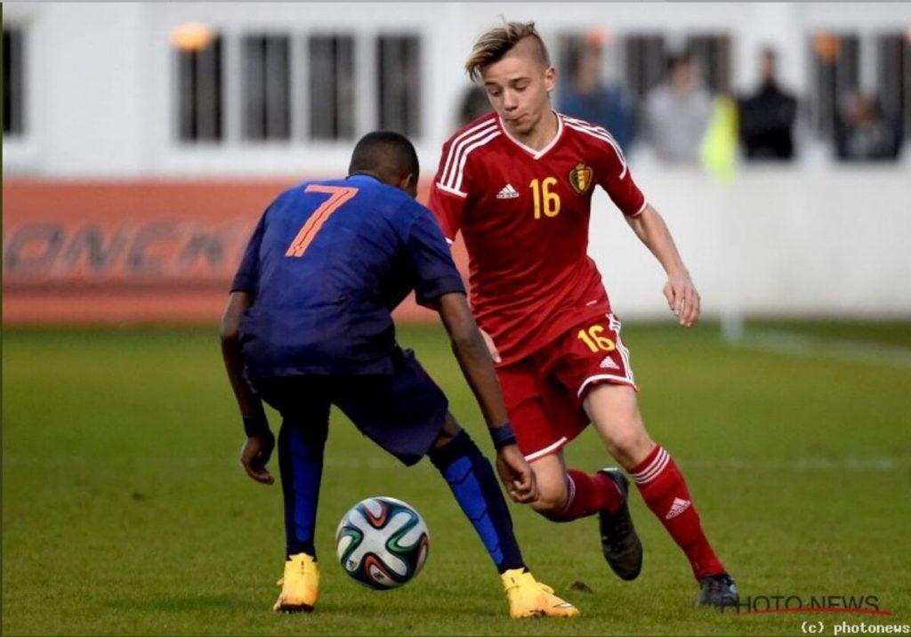 Remco Evenepoel y su historia de futbolista