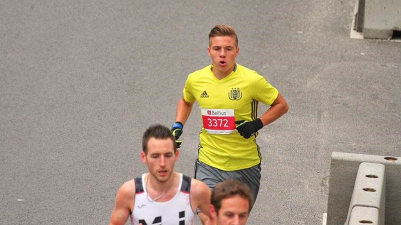 La historia de Remco Evenepoel en la media maratón