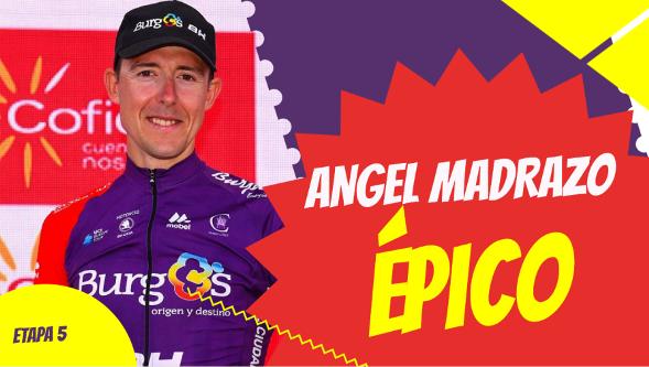 Angel Madrazo en la vuelta a España 2019