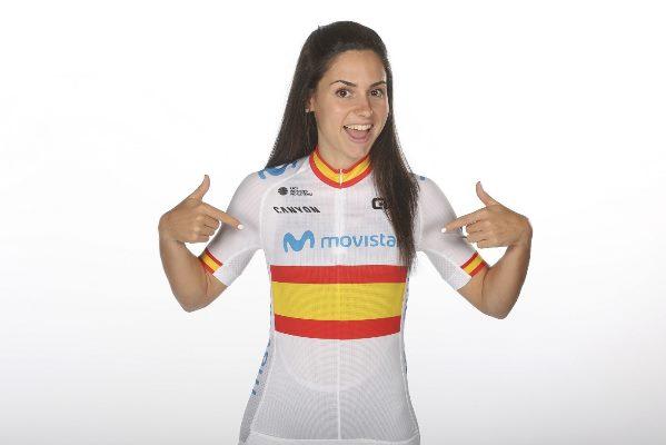 Lourdes Oyarbide ciclista española
