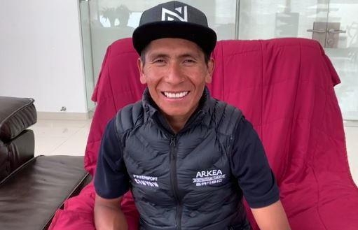 Dos semanas de incapacidad para Nairo Quintana