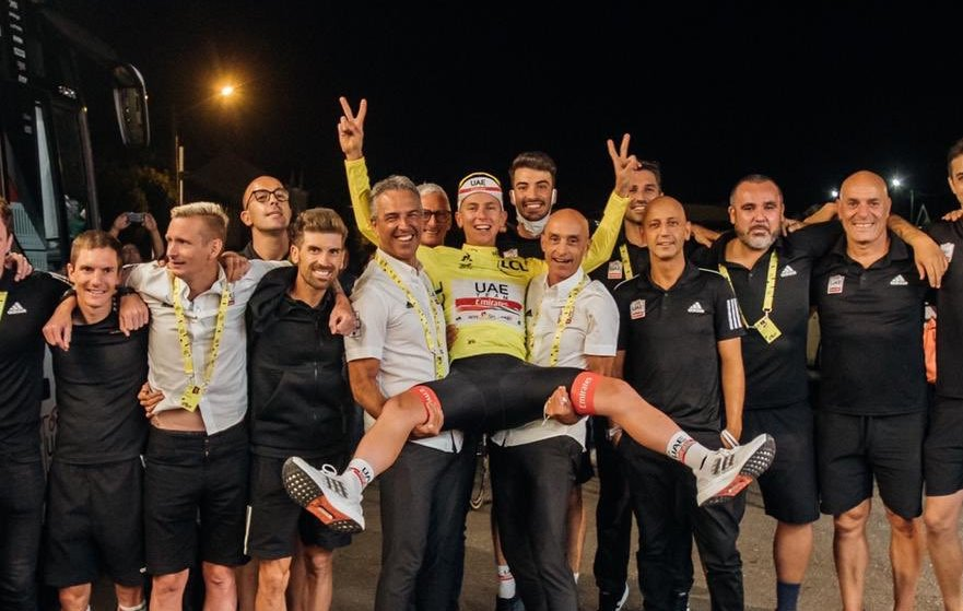 Tadej Pogacar gana el tour de francia 2020
