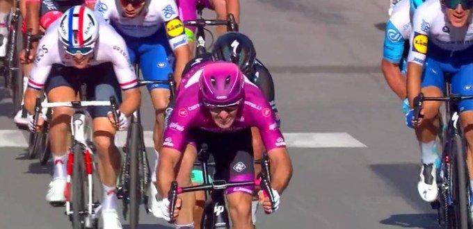 Arnaud Demare gana etapa 7 del giro de Italia 2020