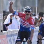 Van Der Poel abandona el UAE tour