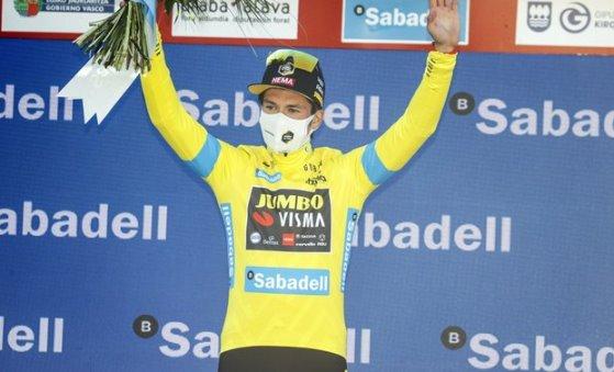 Alex Aranburu gana etapa en la vuelta al pais vasco